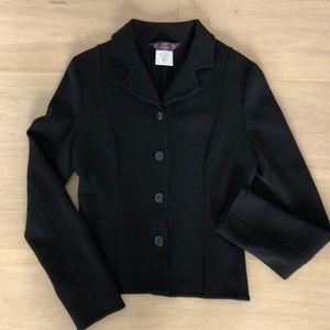 Vintage John Galliano black wool jacket